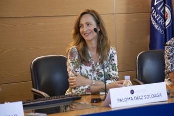 Paloma Díaz Soloaga en la presentación del curso