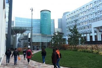 Campus de la sede principal de Glasgow Caledonian University