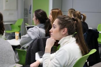 Alumnos de 3er curso de Comunicacion y Gestion de la Moda