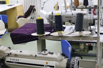 Máquinas de coser en Sastrería Cornejo