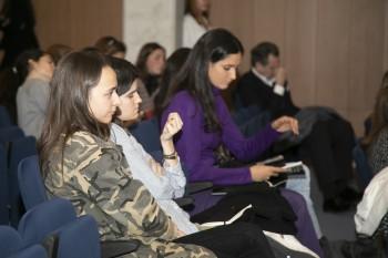 Alumnos en el evento