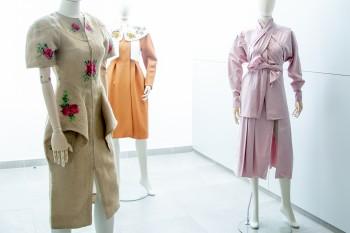 Vestido de Leandro Cano, Delpozo y Juan Vidal