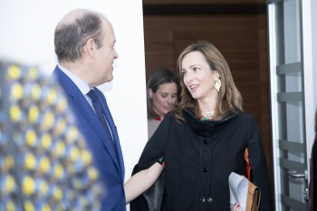 Ignacio Sierra y Paloma Díaz Soloaga