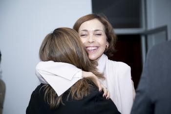 Rocio Ortiz de Betancourt y Paloma Díaz Soloaga