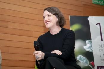 La periodista Carmen Melgar