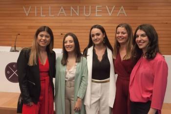 Paula Verde, Ana Tricas, Patricia Martínez, Rocio Redondo y Laura Celaya