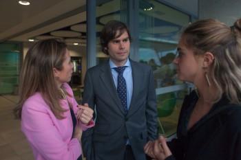 Ana Visiers y Miguel Ángel Martín, profesores del Centro Universitario Villanueva