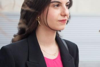 Laura Celaya, recién graduada