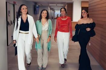 Patricia Martínez de Aragón, Ana Tricas, Isabe Herráiz y Lucía Martínez