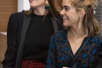 Fátima Caro y María Escribano