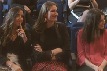 María Cara, Fátima Caro y Laura Celaya