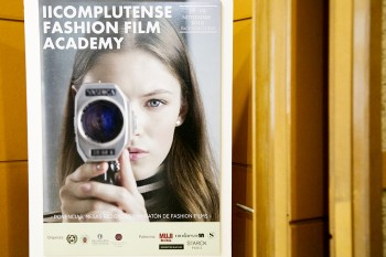 Cartel complutense Fashion film Academy