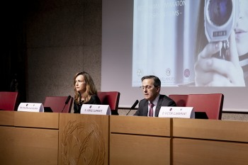 Paloma dáiz Soloaga y Jorge Clemente