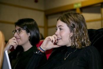 Alumnas de la UCM