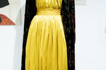 """Vestido de fiesta de la serie """"Velvet""""."""