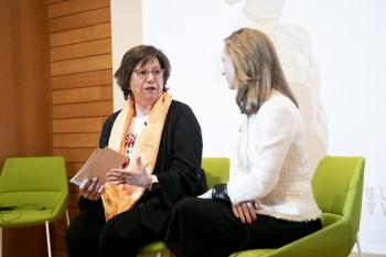 Concha Díaz de Villegas y Paloma Díaz Soloaga