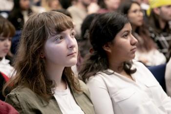 Estudiantes de Comunicación audiovisual