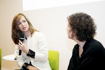 Paloma Díaz Soloaga y Helena Sanchís