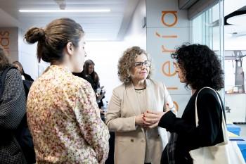 Carmen Baniandrés, María Villanueva y María Gonzalez