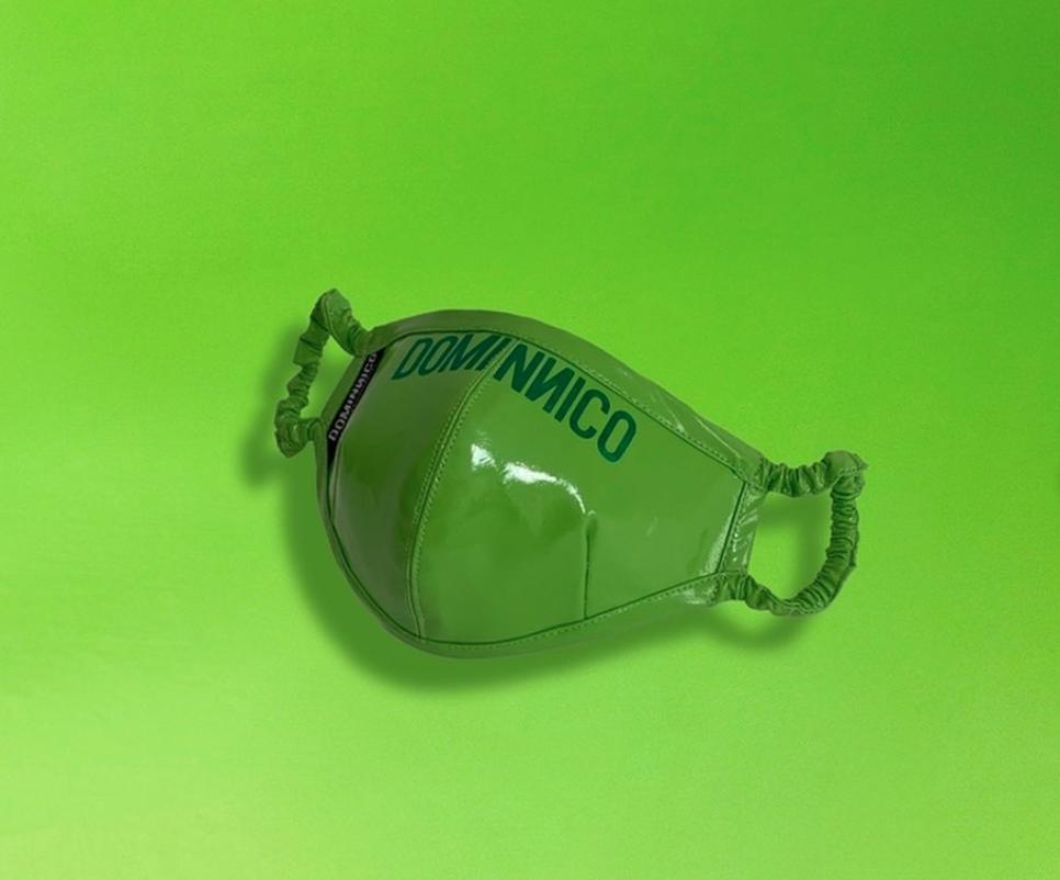 Colección cápsula de mascarillas de la firma Dominnico