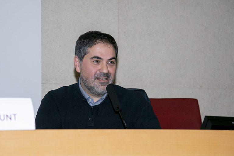 Victor Claramunt durante su intervención